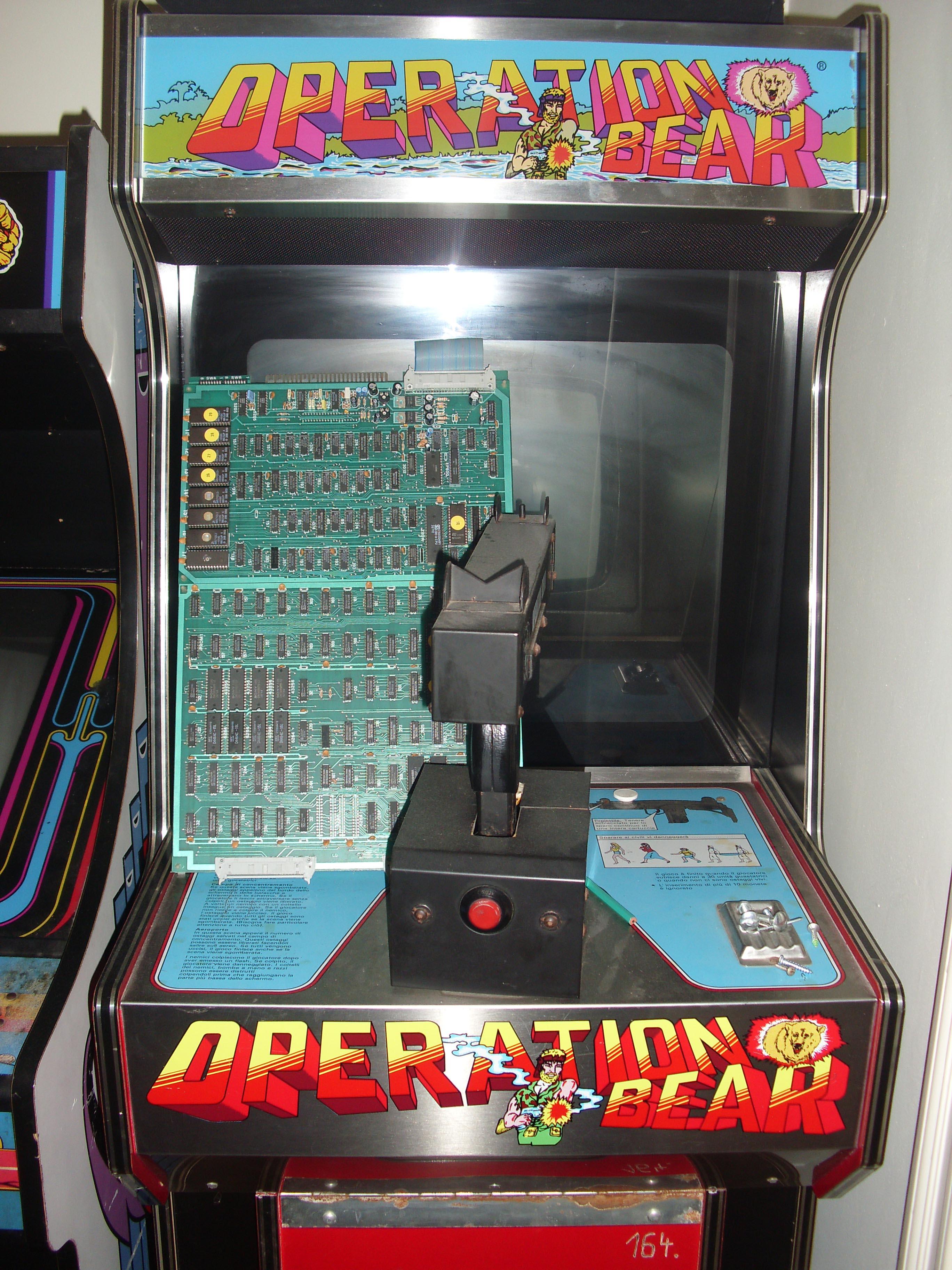 borne arcade operation wolf