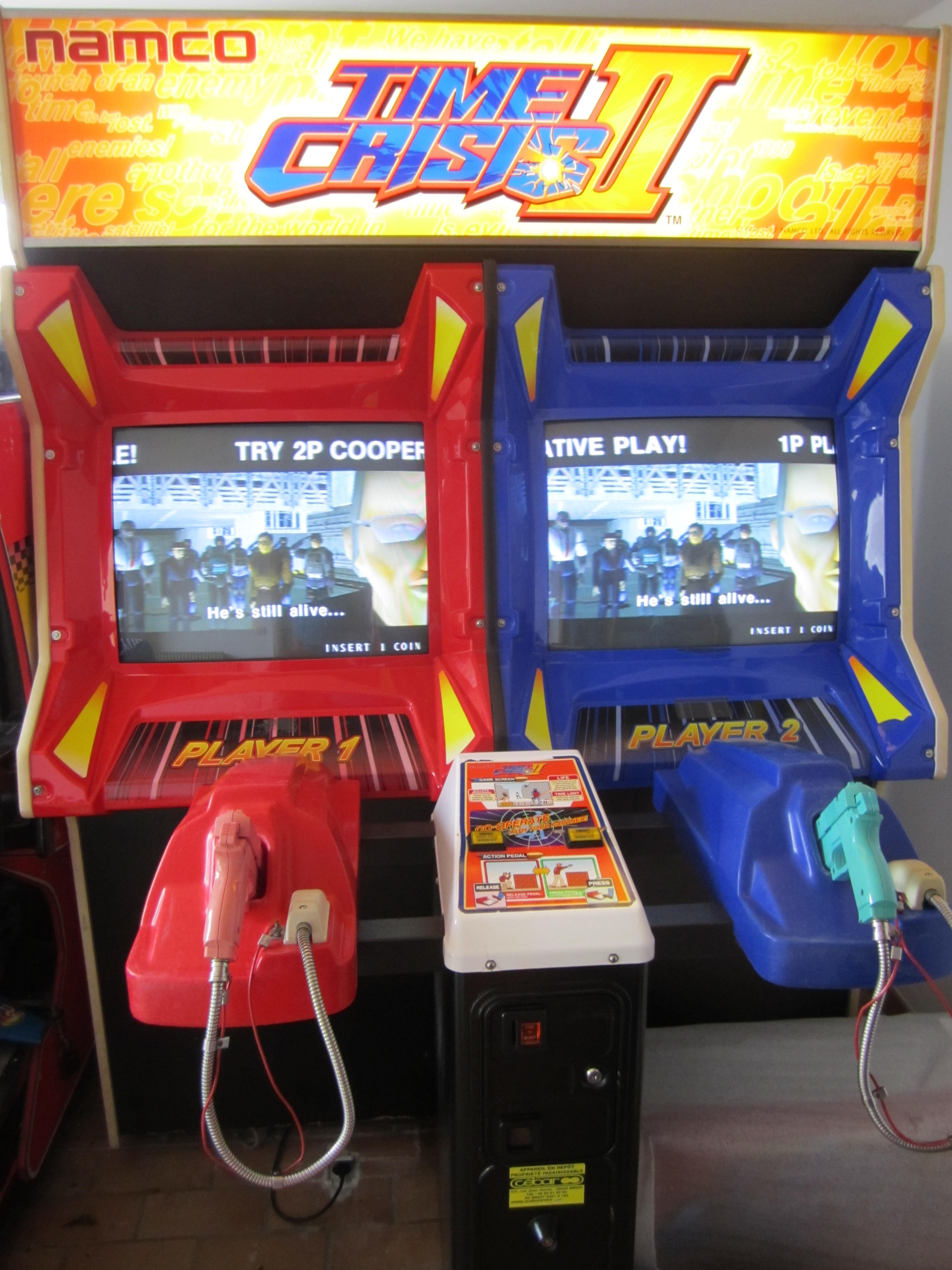borne arcade time crisis 5