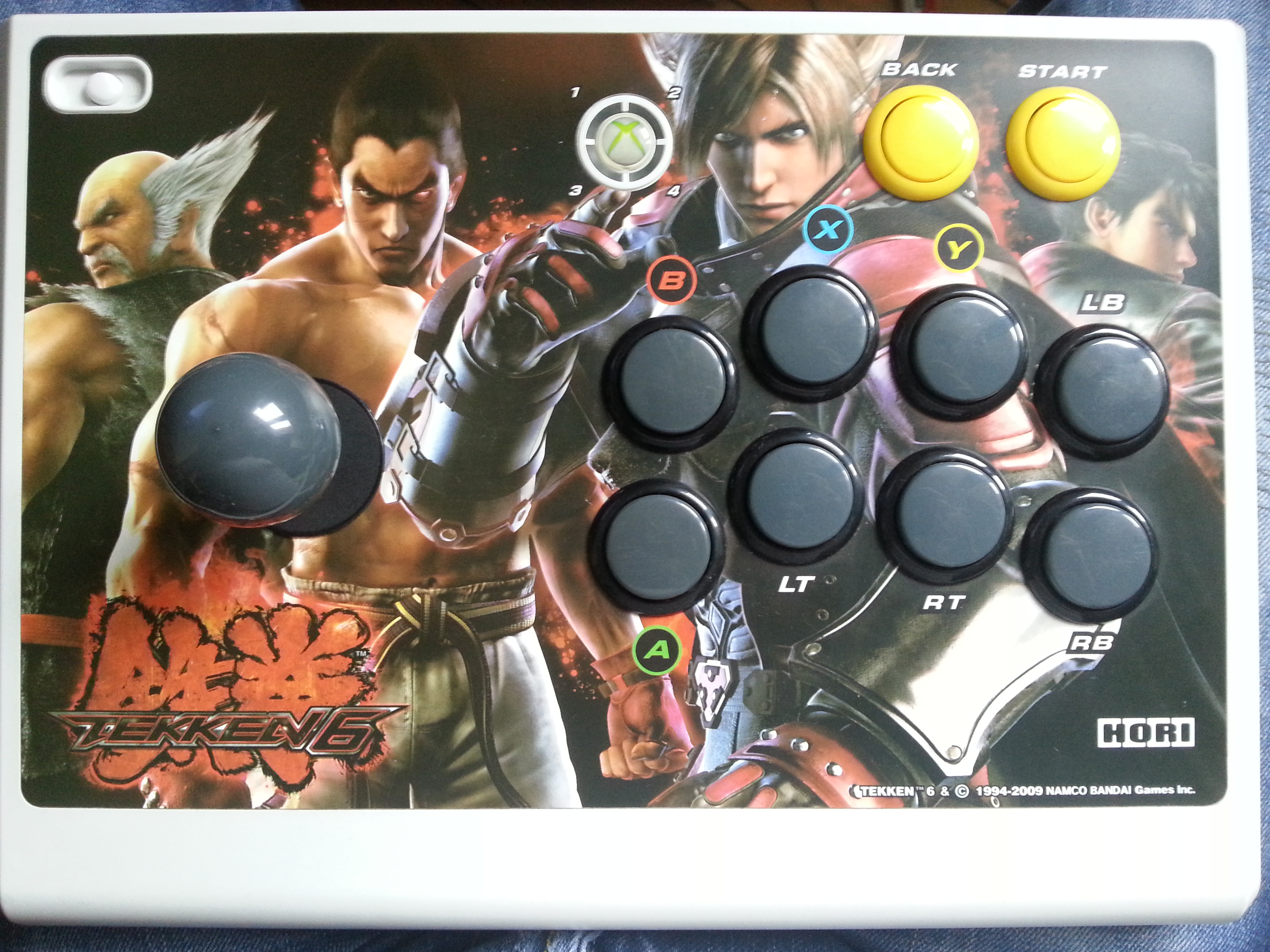 how to play tekken with arcade stick