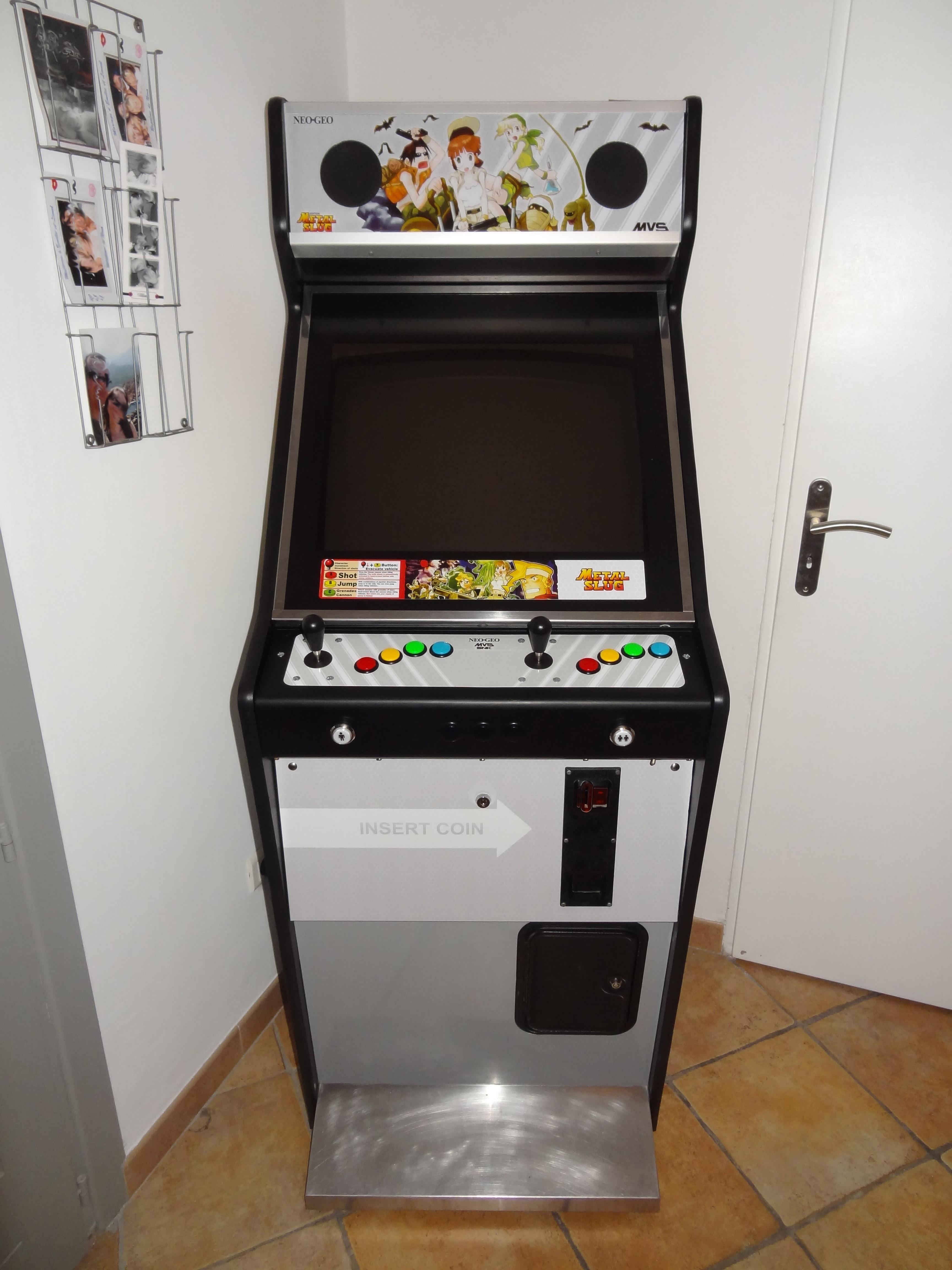 borne arcade vision