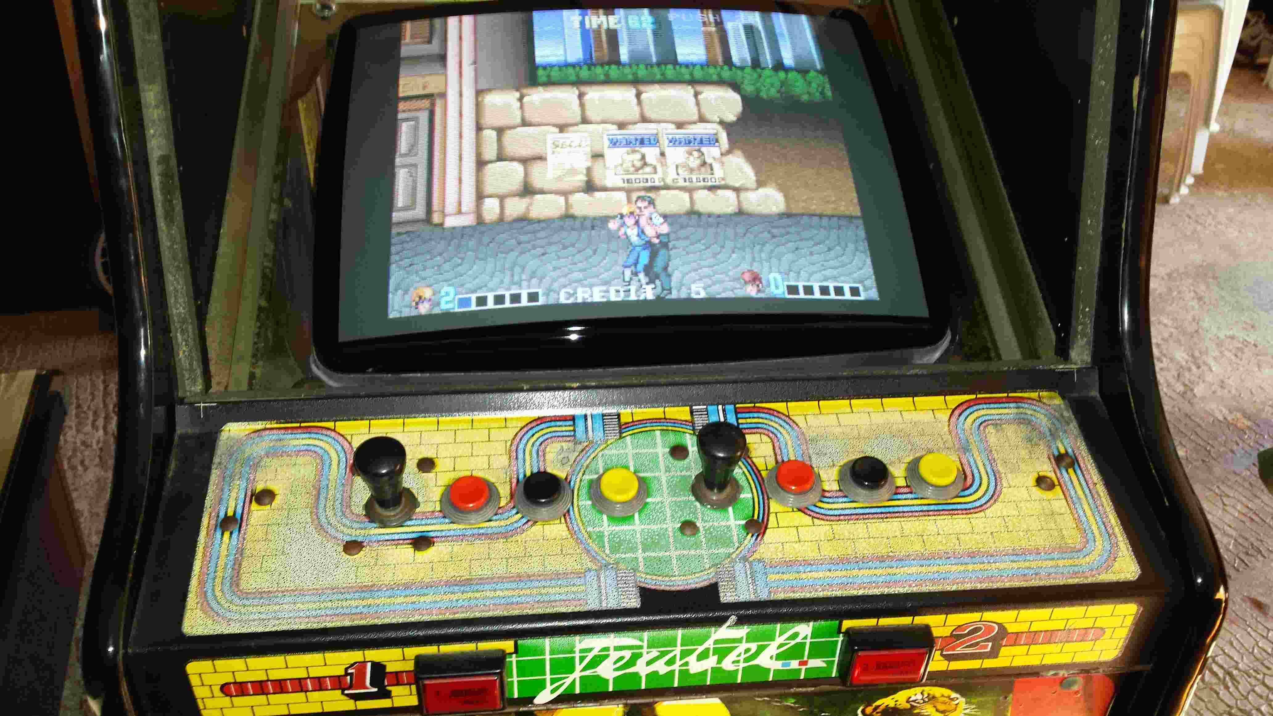 borne arcade double dragon