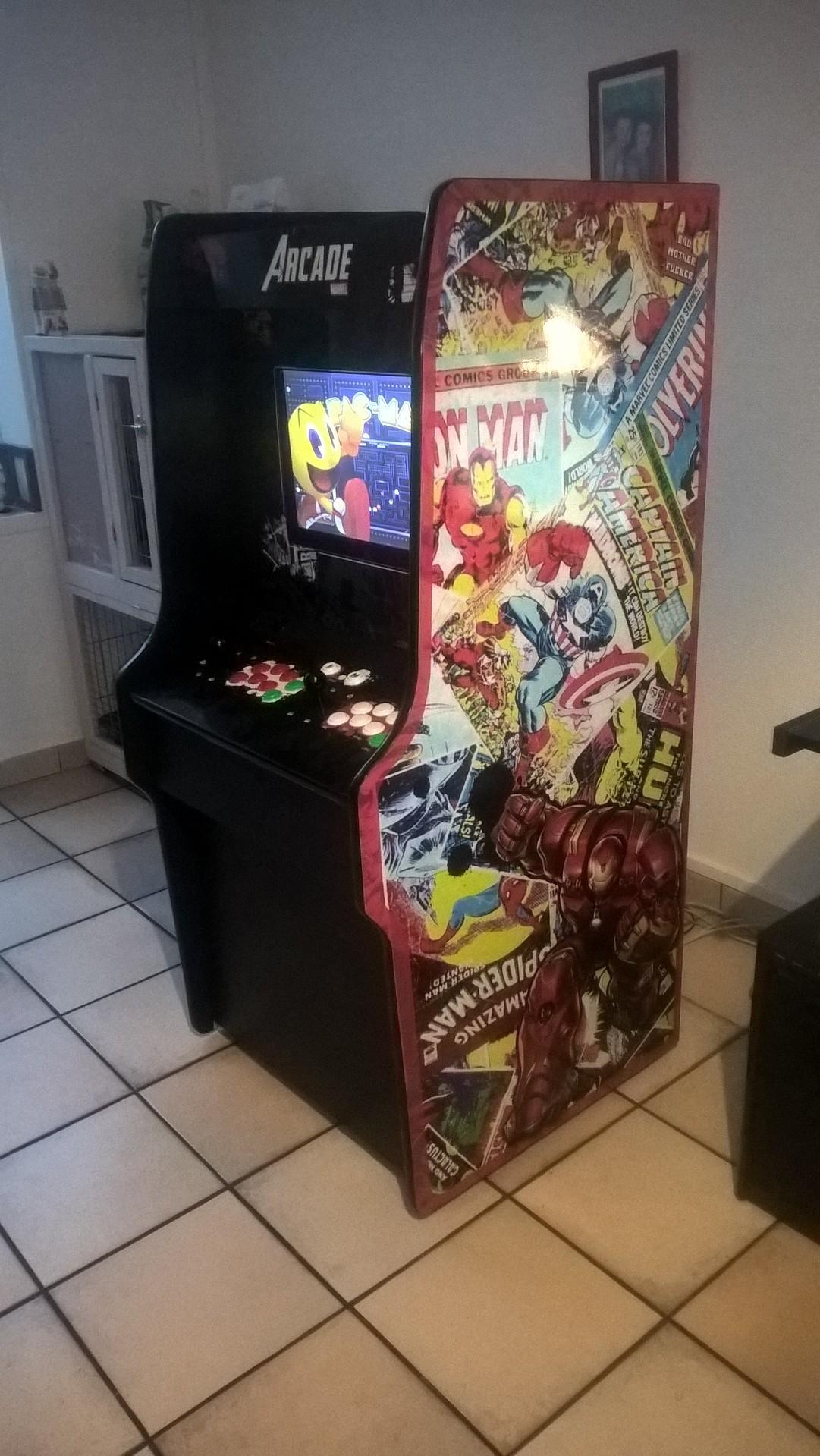 borne arcade 41