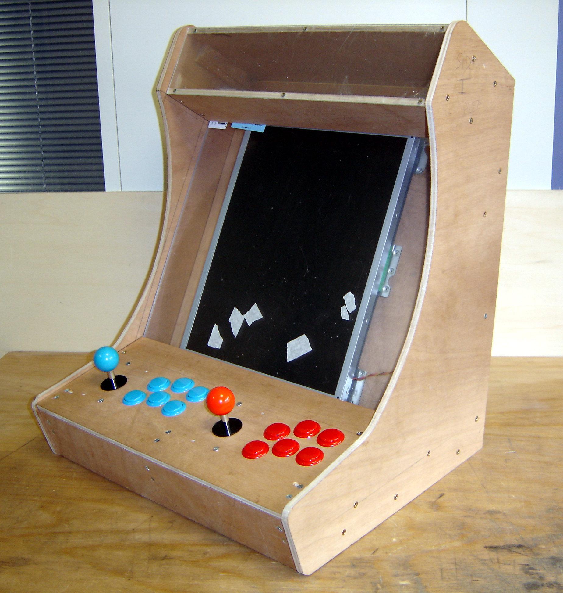 borne arcade ecran rotatif
