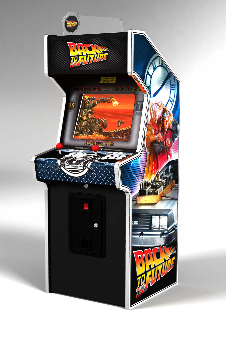 borne arcade back to the future