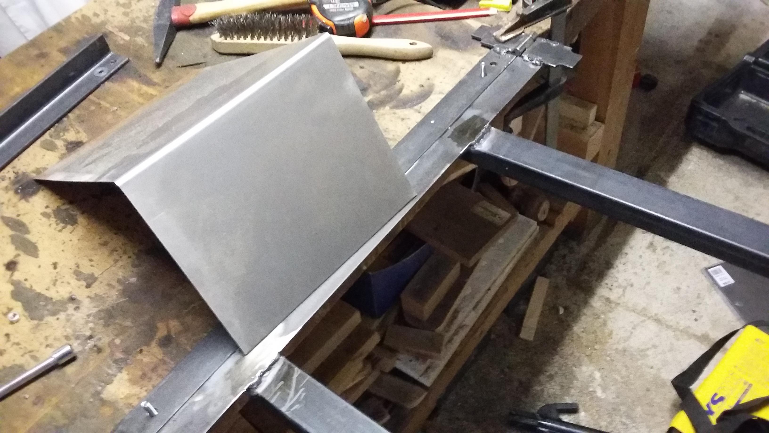 Wip 100 tuto diy plieuse m tal pour panel - Tole acier 2mm ...